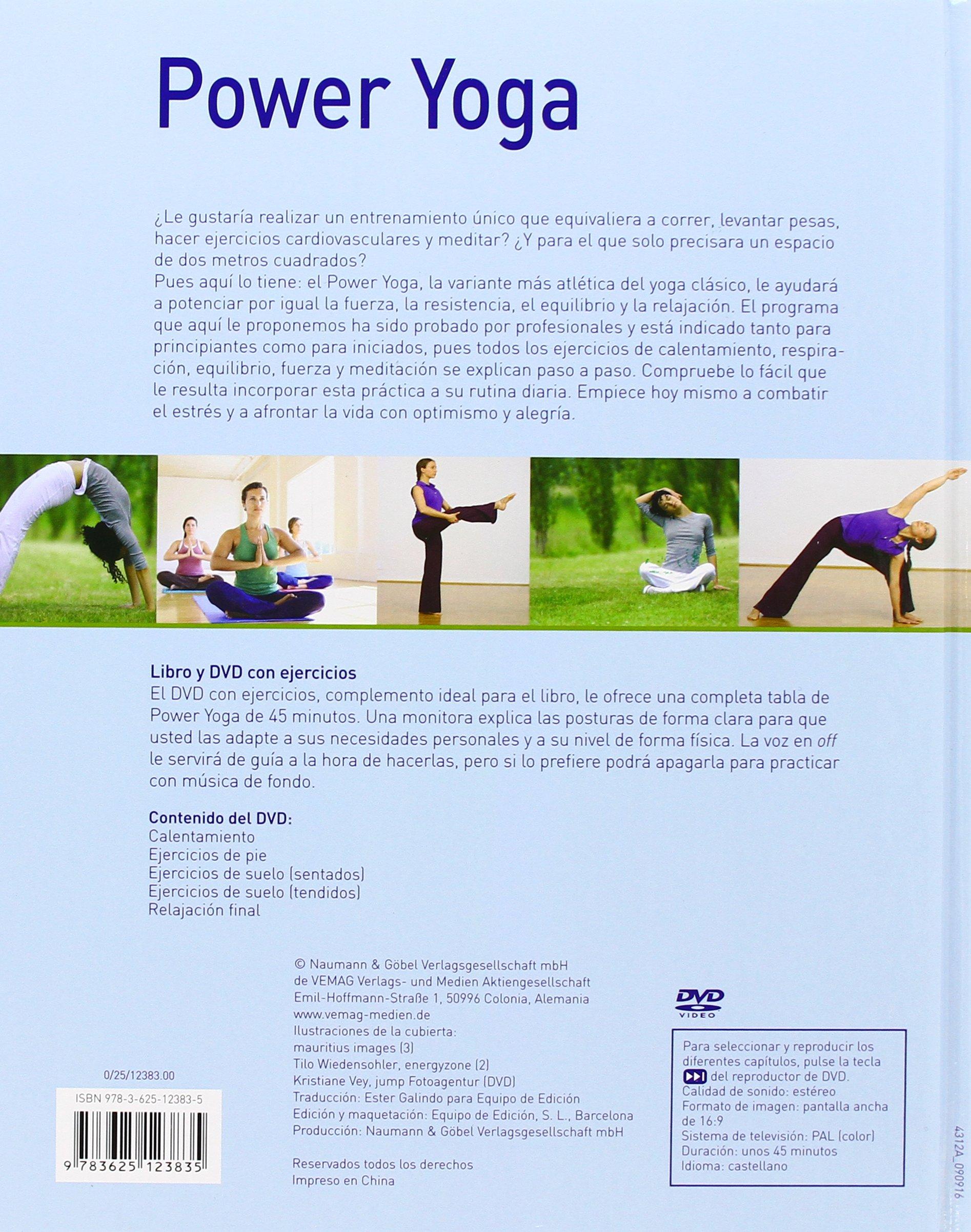 Power-Yoga: Das effektive Fitness-Training für zu Hause. Mit ...