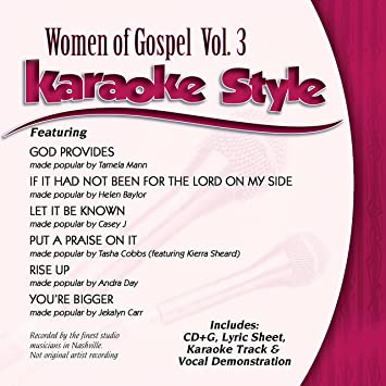 Various - Karaoke Style: Women Of Gospel Vol  3 - Amazon com