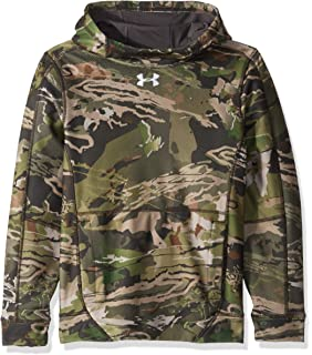 a8330cc5750c2 Amazon.com: Under Armour Boys Icon Camo Hoodie: Clothing