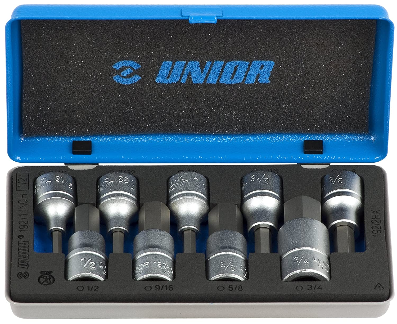 Unior 9621759 Destornillador Vaso Hexagonal Imp, 1/2 Pulgadas ...