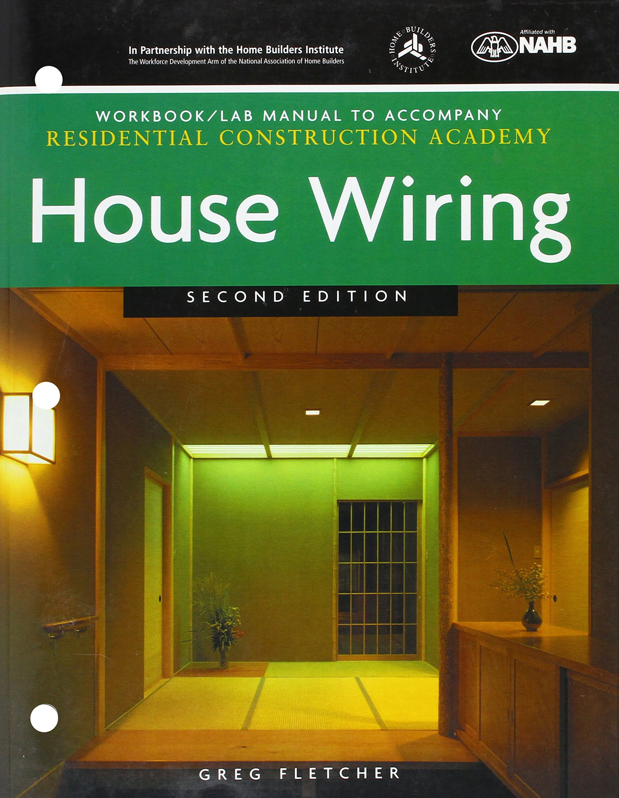 Buy Workbook with Lab Manual for Fletcher's Residential Construction Academy:  House Wiring, 2nd Book Online at Low Prices in India | Workbook with Lab ...