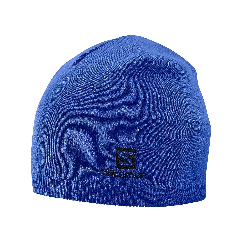 Salomon L40284500, Berretto Invernale Beanie Unisex Adulto, Blu (Moroccan Blue), Taglia Unica