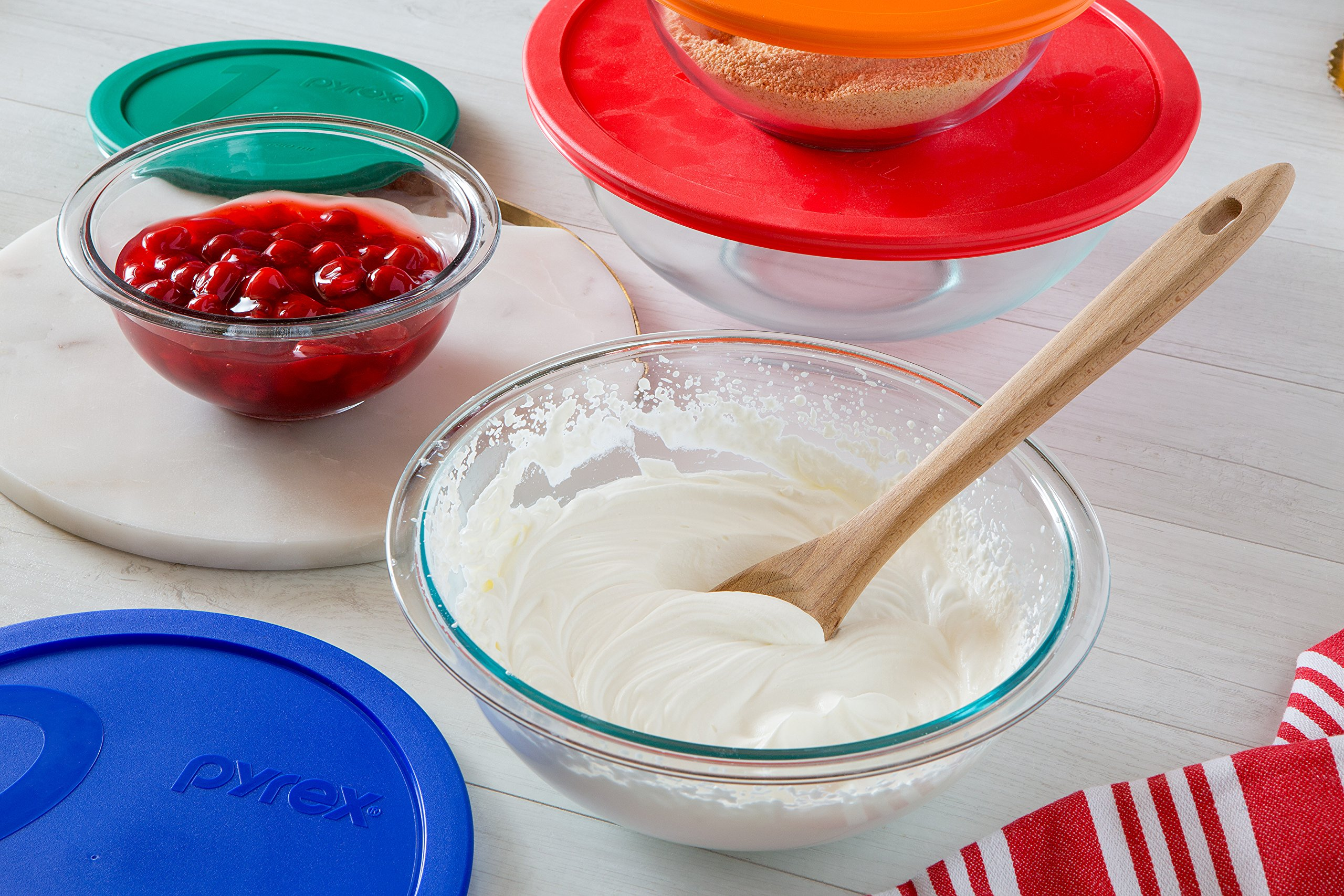 Pyrex Smart Essentials Glass Mixing Bowl Sets Instant Pot