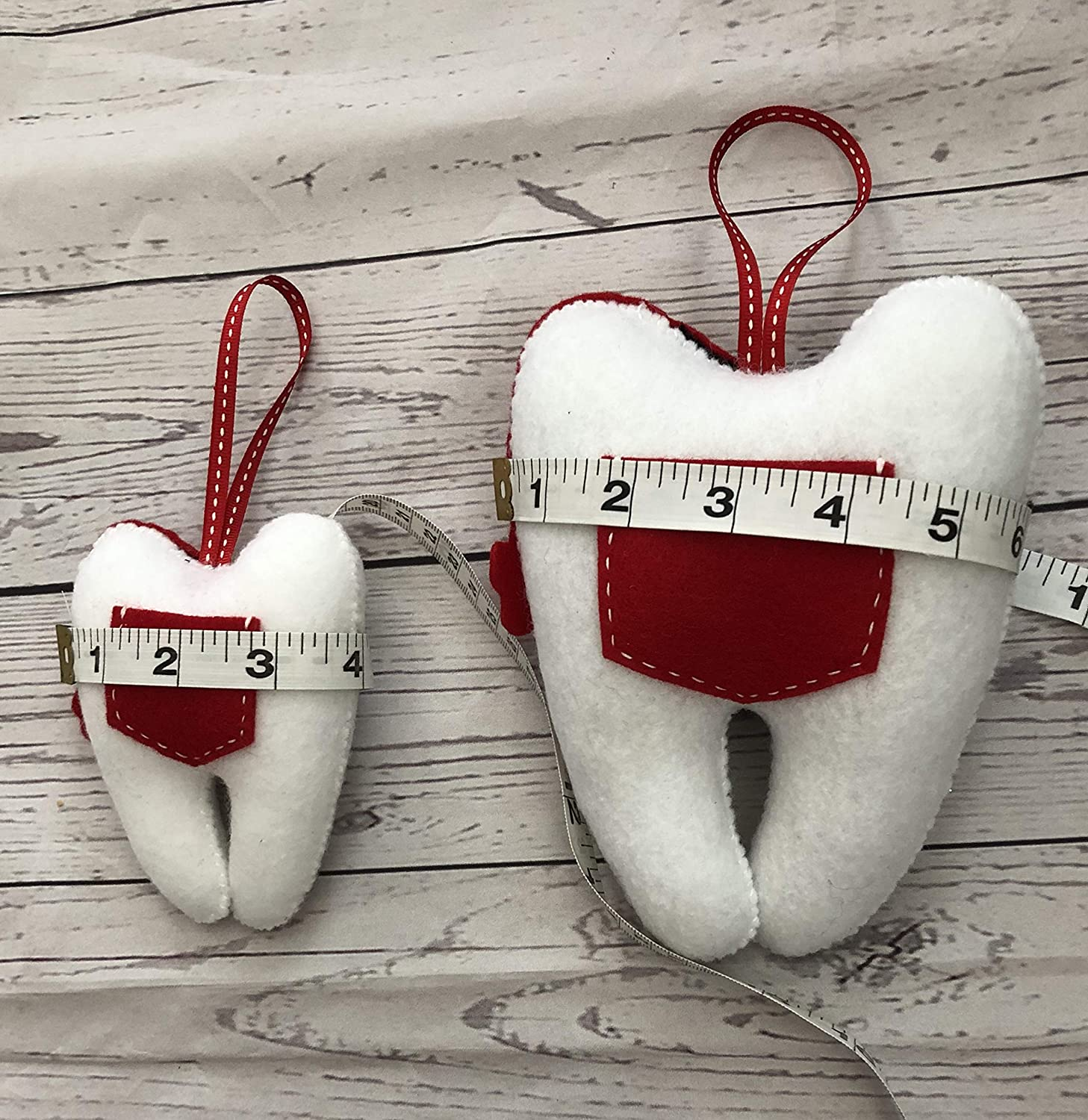 White and Red Tooth Bag Pirate Stuffed Tooth with pocket 100 /% Handmade Neverland Pirates Decorative Pillow Large or small available Tooth Fairy Pillow | For boys and Girls 2 Piece set