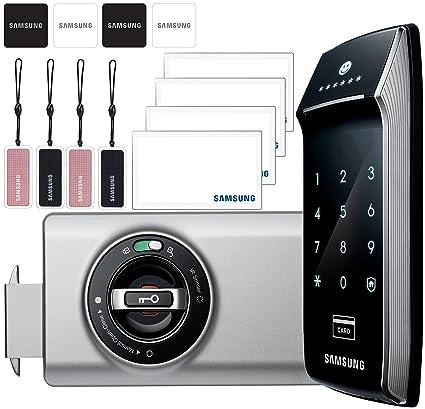 Samsung SHS-2320 Touchpad sin llave cerradura de puerta Digital seguridad Ezon + 4 piezas