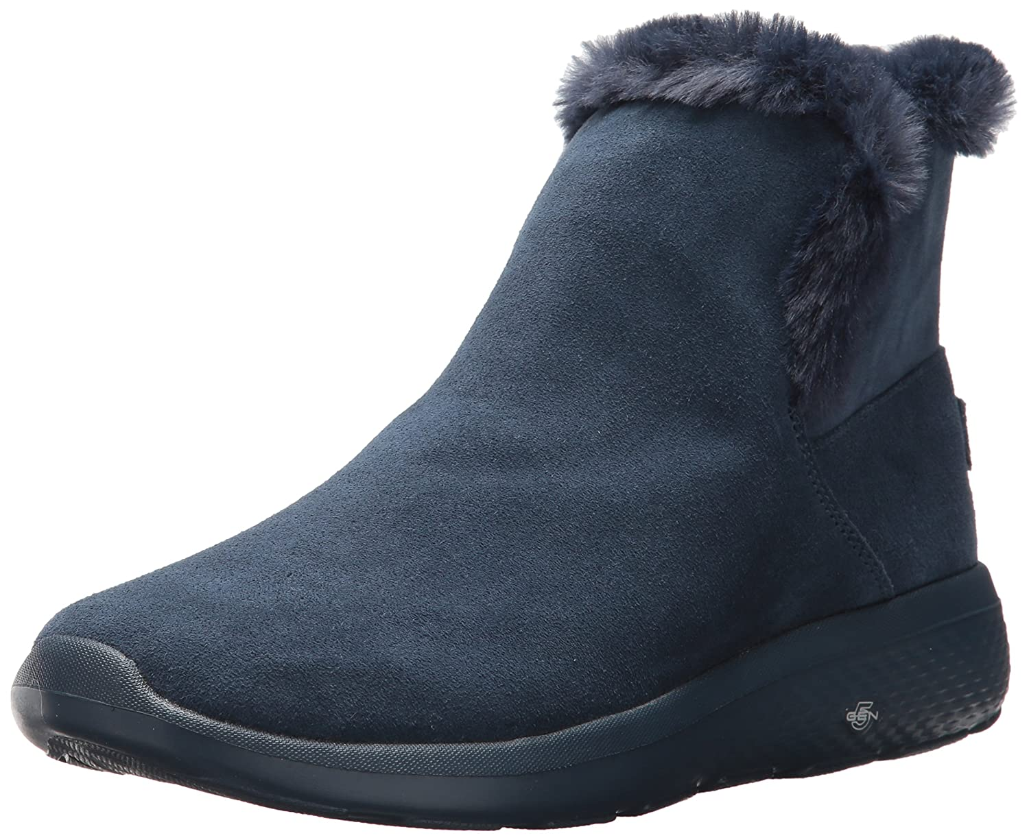 Skechers Damen on-The-Go City 2 Chukka Boots, Char  37 EU|Blau (Navy)
