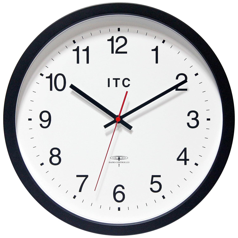 Amazon infinityitc 90rc14 1 atomic clock radio controlled amazon infinityitc 90rc14 1 atomic clock radio controlled clock 14 diameter black industrial scientific amipublicfo Images