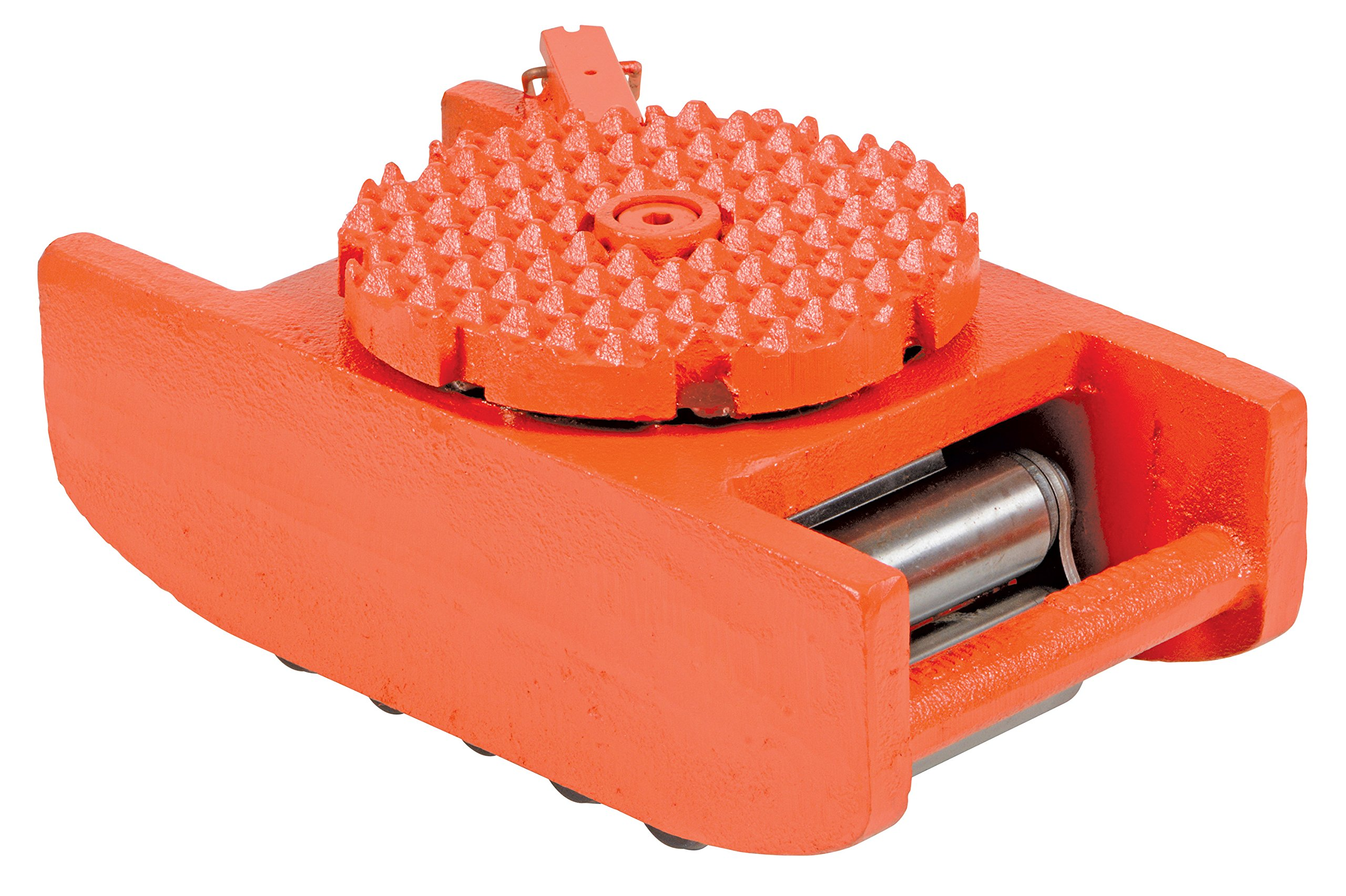 Vestil VHMS-15 Swivel Top Machine Roller, Iron Body with Steel Bearings, 15000 lb. Capacity, 4-7/8'' x 5-3/4'' x 10-1/2'' by Vestil