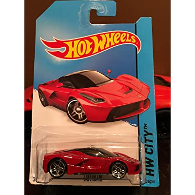 Hot Wheels 2014 Hw City 38/250 - Laferrari: Toys & Games [5Bkhe0206915]
