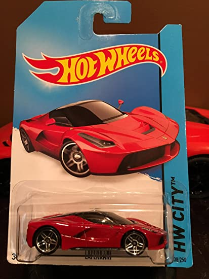 2014 Hot Wheels Hw City 38/250   Laferrari