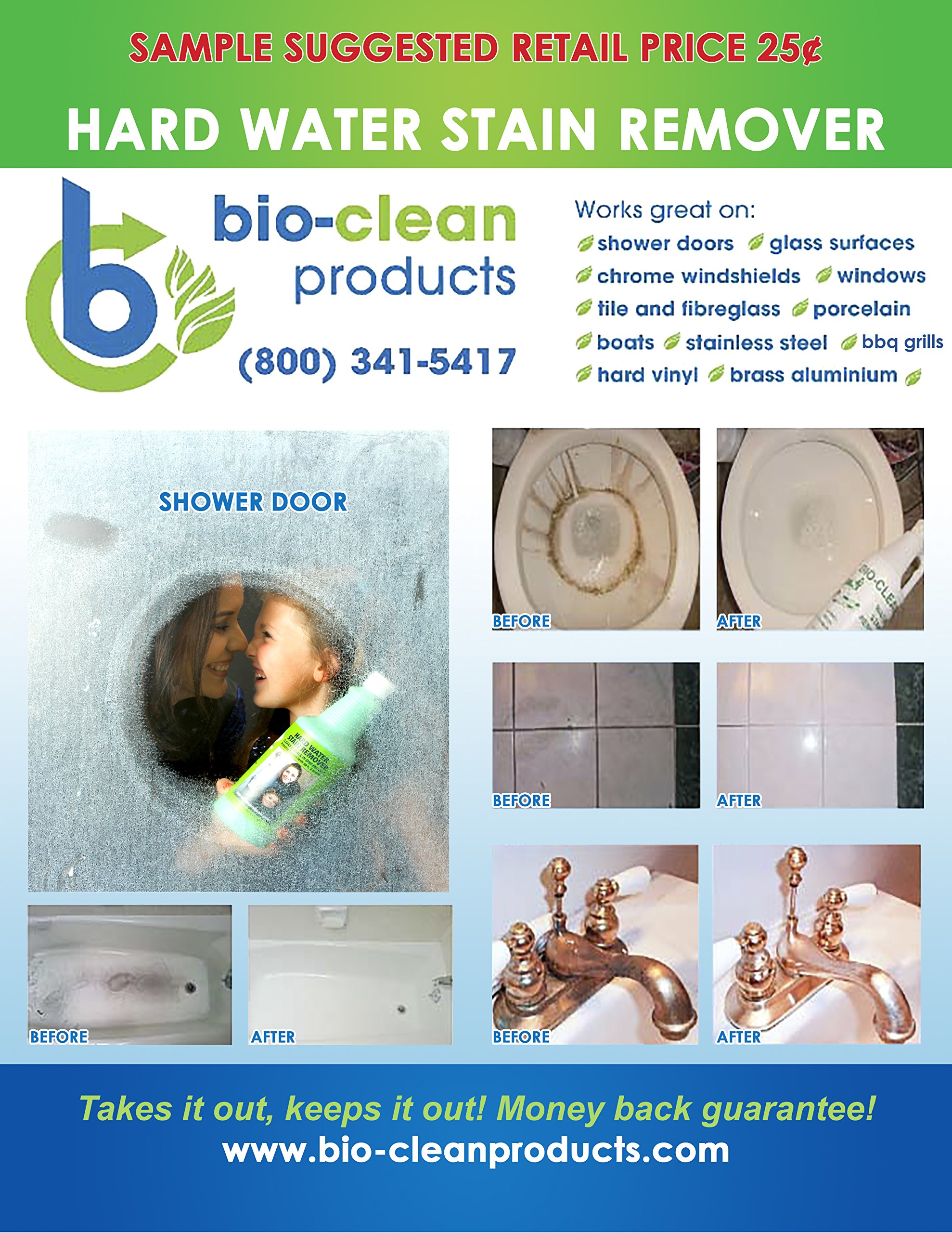 Bio Clean: Hard Water Stain Remover (10 Oz) - Our Professional ...