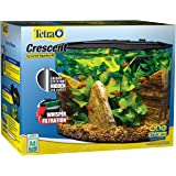 Tetra Crescent Acrylic Aquarium Kit, Energy Efficient LEDs
