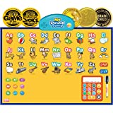 BEST LEARNING i-Poster My Learning Board - Electronic Interactive Alphabet Wall Chart, Talking ABC & 123s & Music Poster Toy