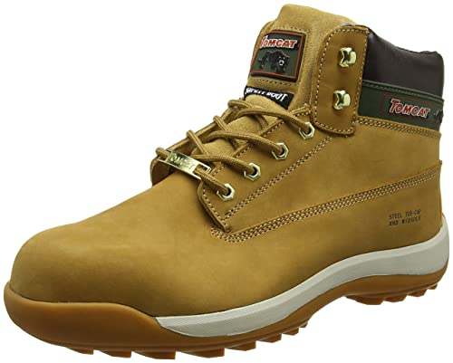 Rock Fall Pro Man Orlando Tc35c S3 Honey Nubuck Steel Toe Cap Work Safety Boots Clothing, Shoes & Accessories
