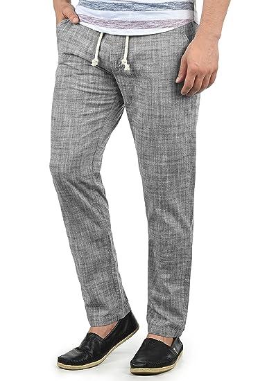 Coton Homme En 100 Bonavo D'été Lin Coupe Blend Pantalon p4wTXqx0