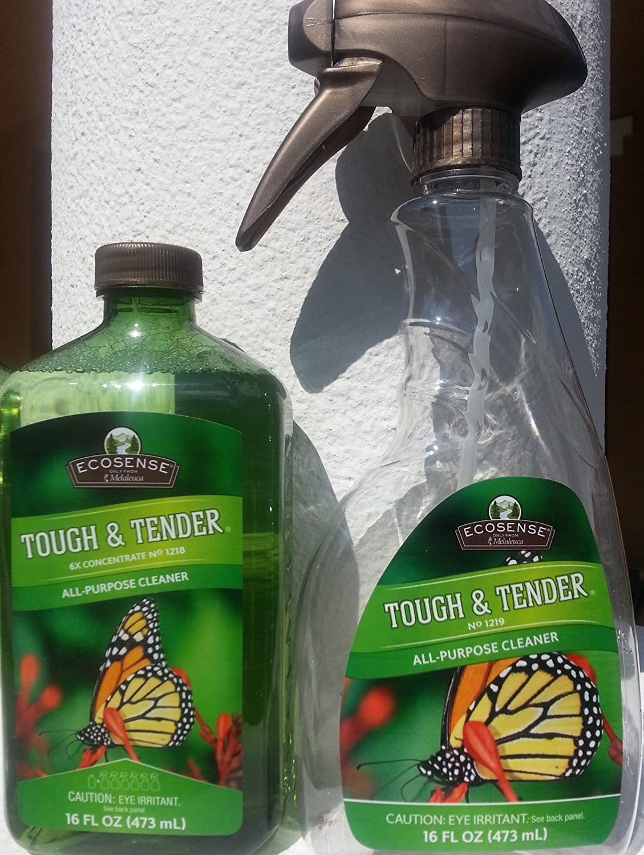 Melaleuca Ecosense Tough & Tender All-Purpose Cleaner with Spray Bottle