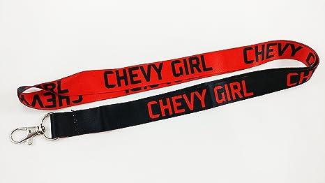 Amazon.com: Chevy niña Reversible Cordón/llavero con Clip ...