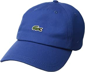 09a26b72 Lacoste Men's Embroidered Crocodile Cotton Cap