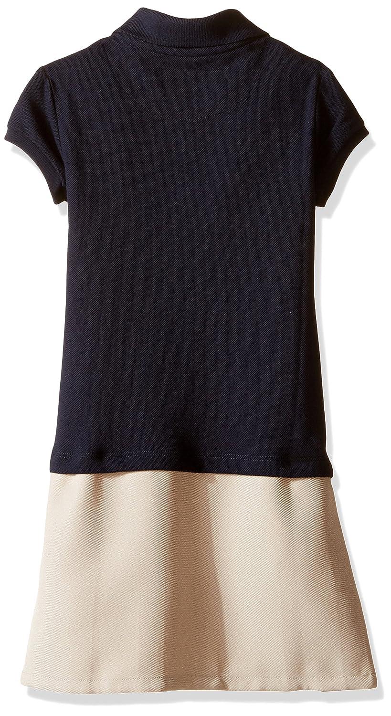 Nautica Girls School Uniform Short Sleeve Polo Dress