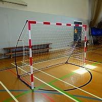 QUICKPLAY Tragbares Handballtore - Ultra Tragbar Innerhalb & Draußen Handball Ziel Eigenschaften Gewichtete Basis | Befürwortet von der Europäisch Handballverband