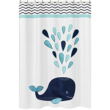 Amazon Sweet Jojo Designs Blue Whale Collection Childrens Kids
