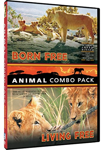 Animal Combo Pack: Born Free/Living Free