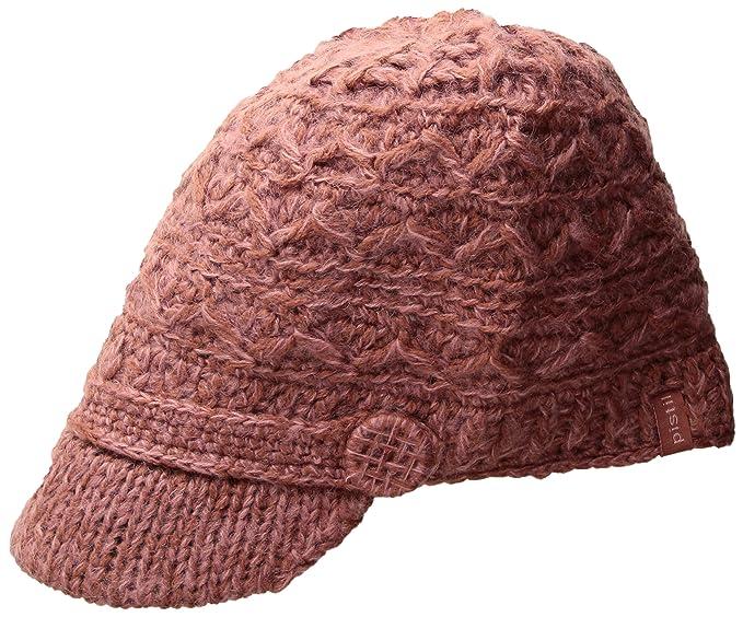 91d20b2c4b2d2 Amazon.com   Pistil Women s Korri Knit Brim Beanie