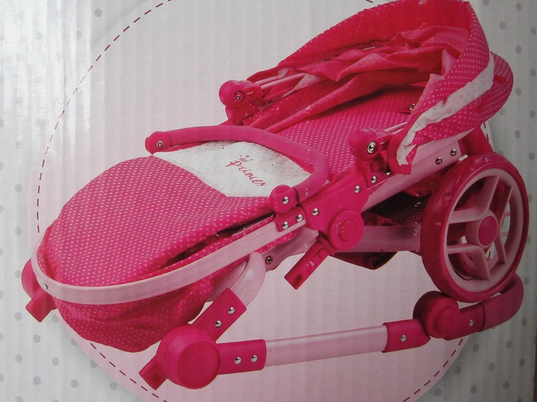 Amazon.es: Princess - Coche capota, 69 x 42 x 80 cm, manillar 40-78 cm (Muñecas Arias 40114): Juguetes y juegos