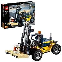 LEGO Ağır Hizmet Forklifti, Sarı-Siyah