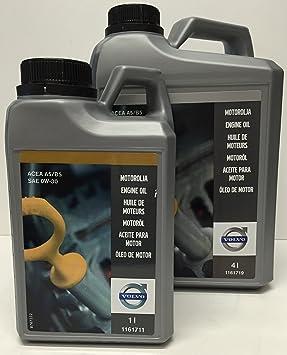 Volvo Aceite para Motor Original SAE 0W30 A5/B5 en 5 litros: Amazon.es: Coche y moto