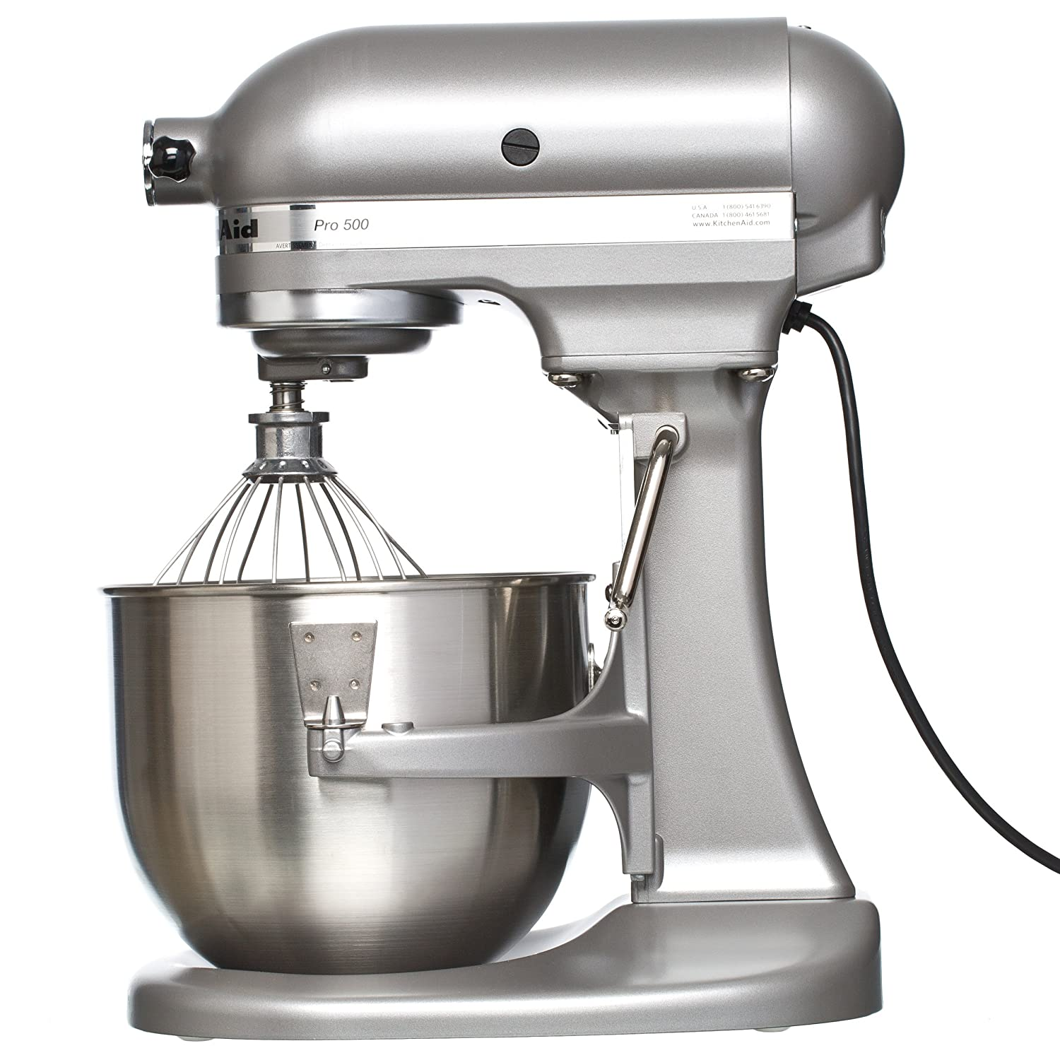 Amazon.com: KitchenAid PRO 500 Series 5-Quart Lift Style Stand Mixer ...