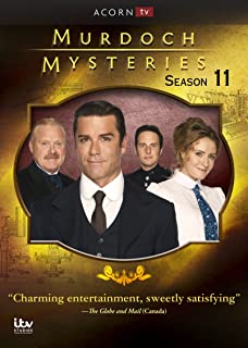 Book Cover: Murdoch Mysteries: Series 11
