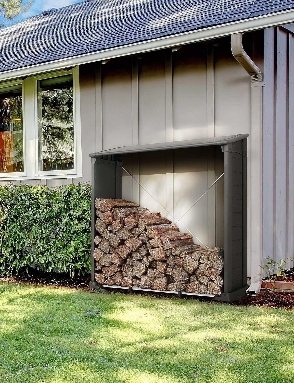 Kaminholzunterstand  Keter 17199186 Log Store for Firewood Firewood Shelter, 1.2 m³ ...