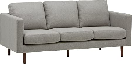 Rivet Revolve Modern Upholstered Sofa Couch, 80