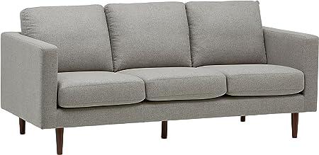 Rivet Revolve Modern Upholstered Sofa Couch, 80