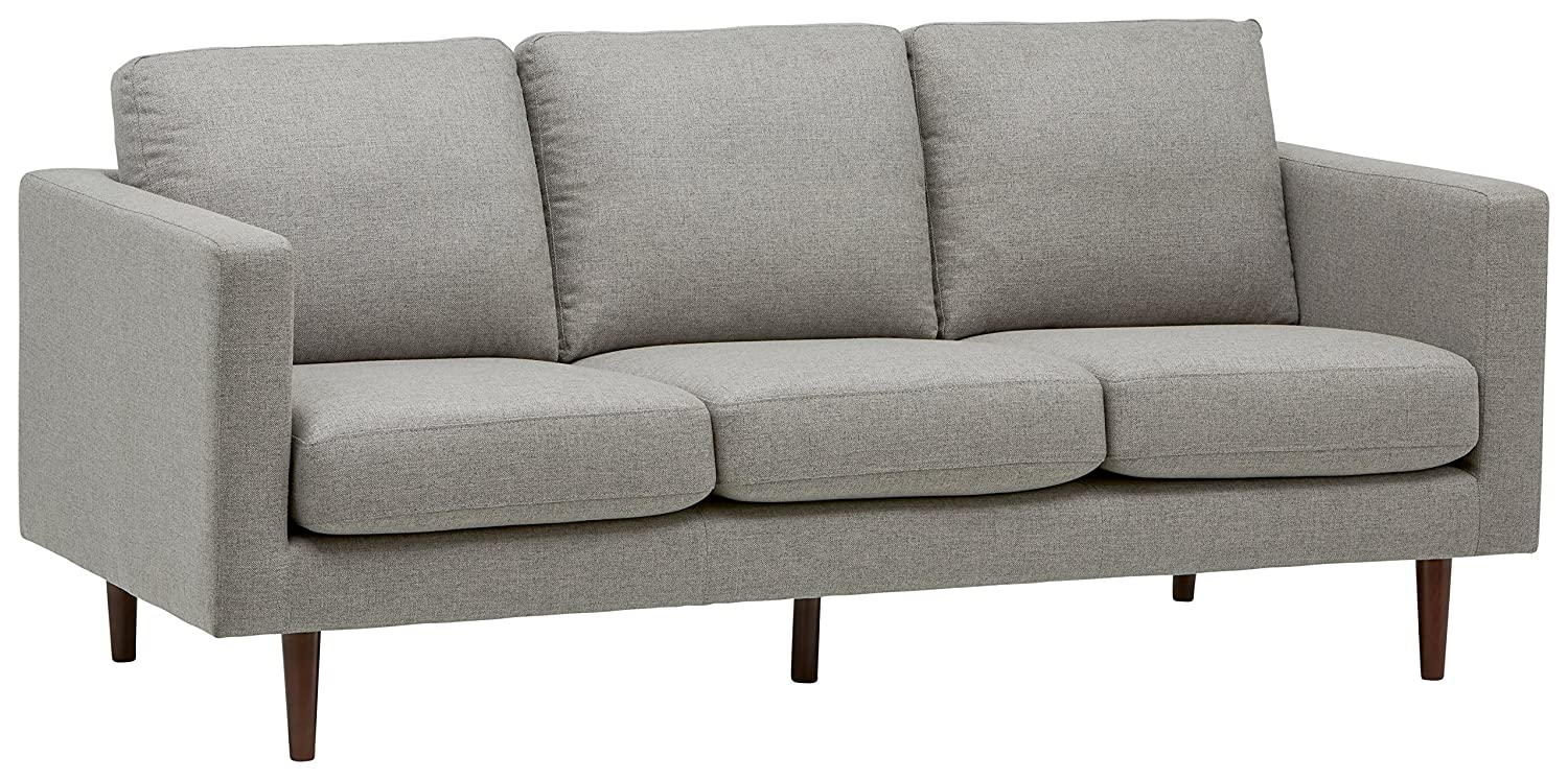 Rivet Revolve Mid-Century Modern Sectional Sofa Couch, 80\