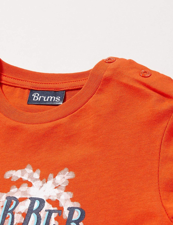 Brums T-Shirt Jersey con St Maglietta a Manica Lunga Bimbo