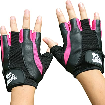 Amazon.com   Nordic Lifting Weight Lifting Gloves for Women - Sports ... 627fe966f3