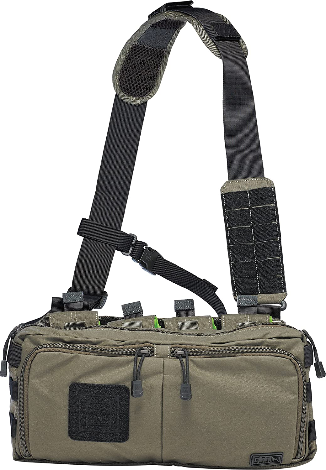 5.11 Tactical 4 Banger Bag One Size OD Trail by 5.11: Amazon.es: Deportes y aire libre