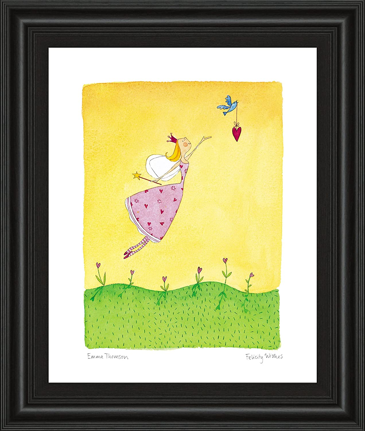 Amazon Com Classy Art 4967 Felicity Wishes Ii Framed Prints By Emma Thomson Posters Prints