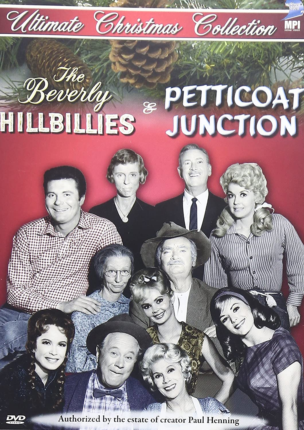 amazon com the beverly hillbillies petticoat junction christmas donna douglas irene ryan max baer jr raymond bailey nancy kulp harriet e macgibbon bea benaderet shug fisher danielle mardi linda henning