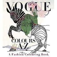 Vogue Colours a to Z: A Fashion Colouring Book