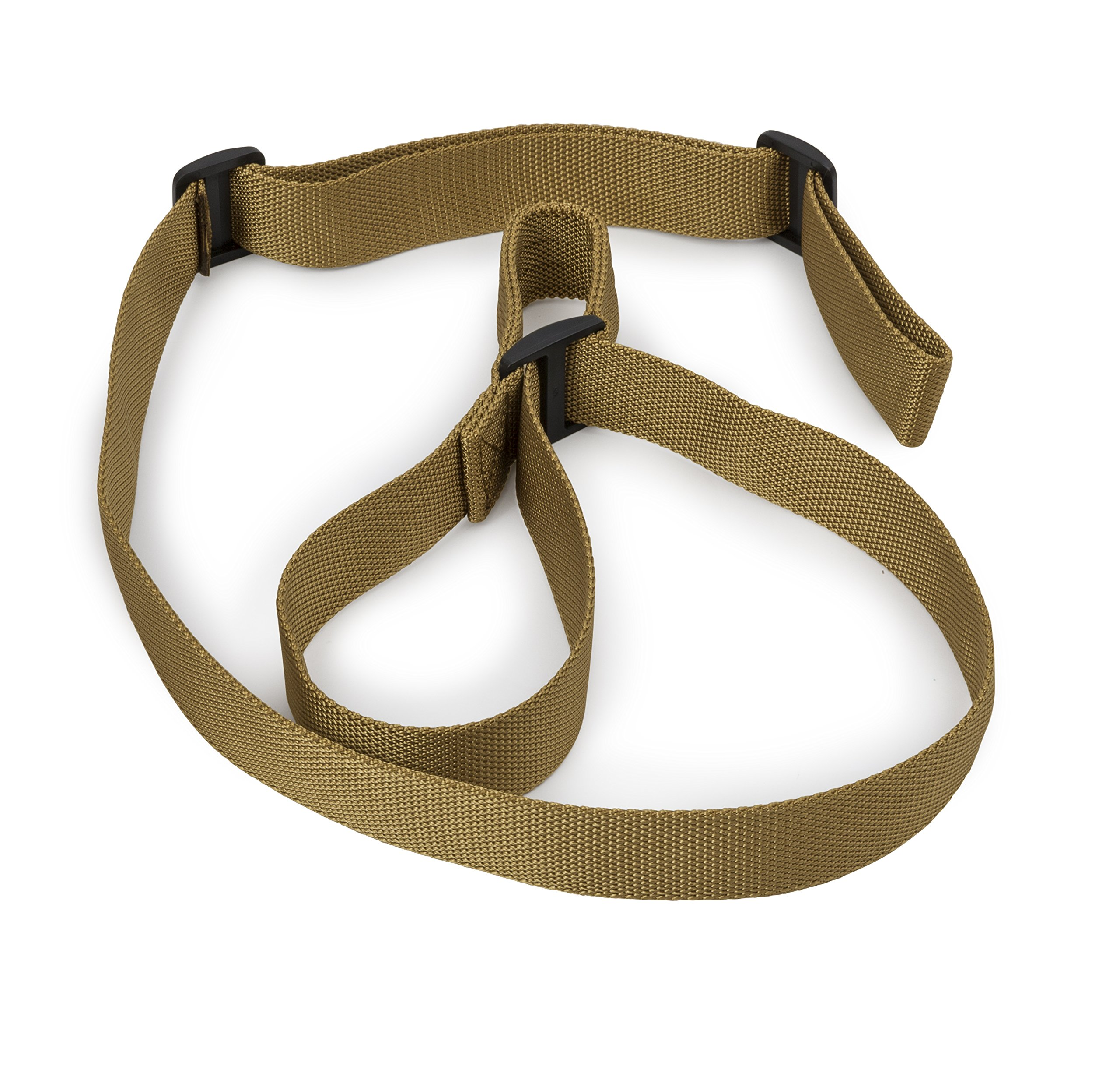 STI Rifle Sling - 2 Point Sling with Adjustable Thumb Loop for Hunting Sports and Outdoors - 1.25 Wide Adjusts 15 to 55 Inches Long by STI