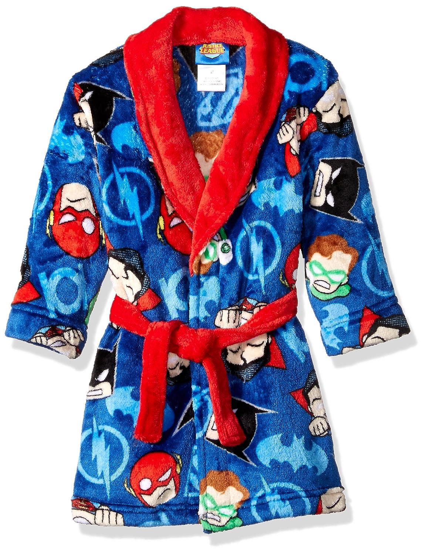 Justice League Boys' Big Velvet Fleece Robe K183351JL