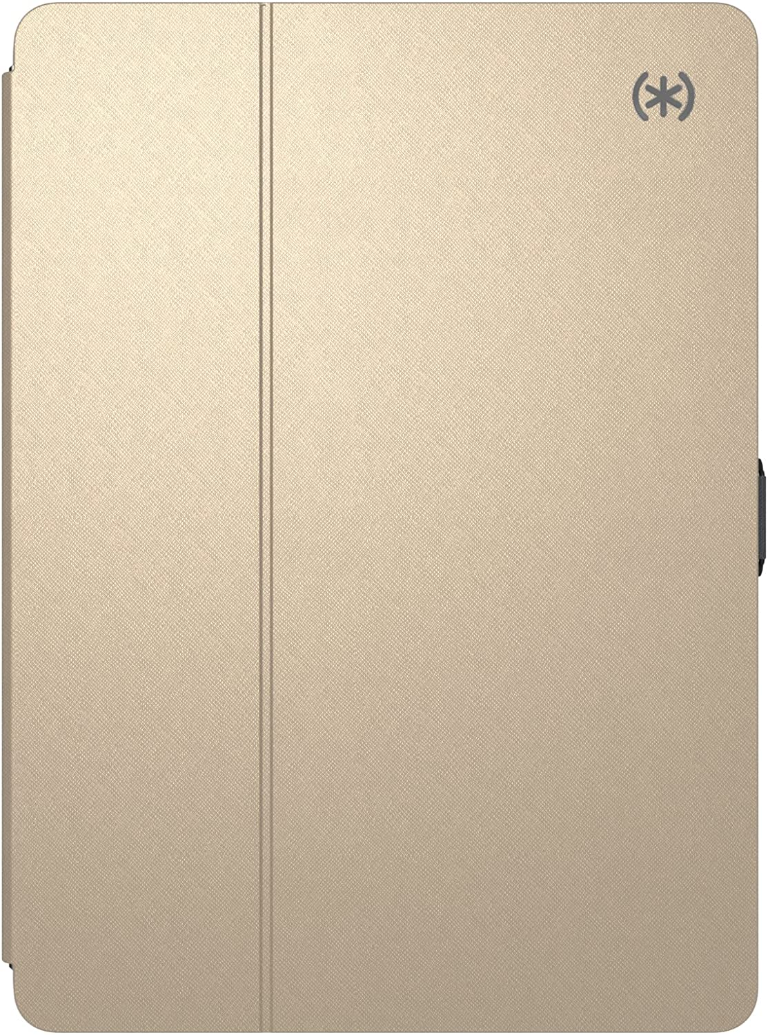 """Speck Products 92112-6254 Balance Folio Metallic Case and Stand for 9.7"""" iPad Cases (2017), Air and Air 2, White Gold/Graphite Grey"""