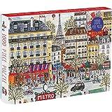 Galison Michael Storrings Paris Puzzle (1000 Piece)