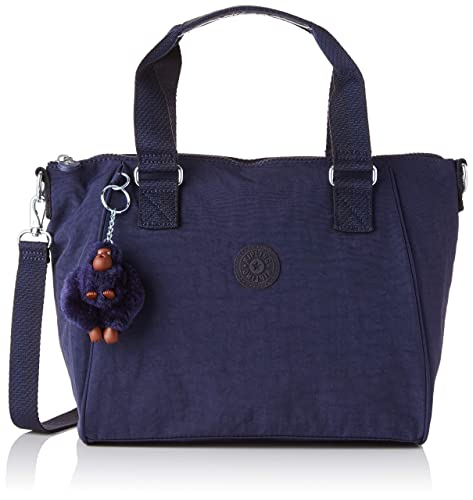 Kipling - Amiel, Bolsos maletín Mujer, Azul (Active Blue)