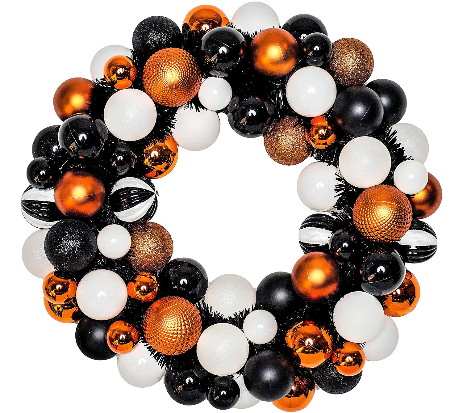 Halloween Door Decoration Glitter Halloween Ornament Wreath 20 W by Specialty D/écor and Gifts