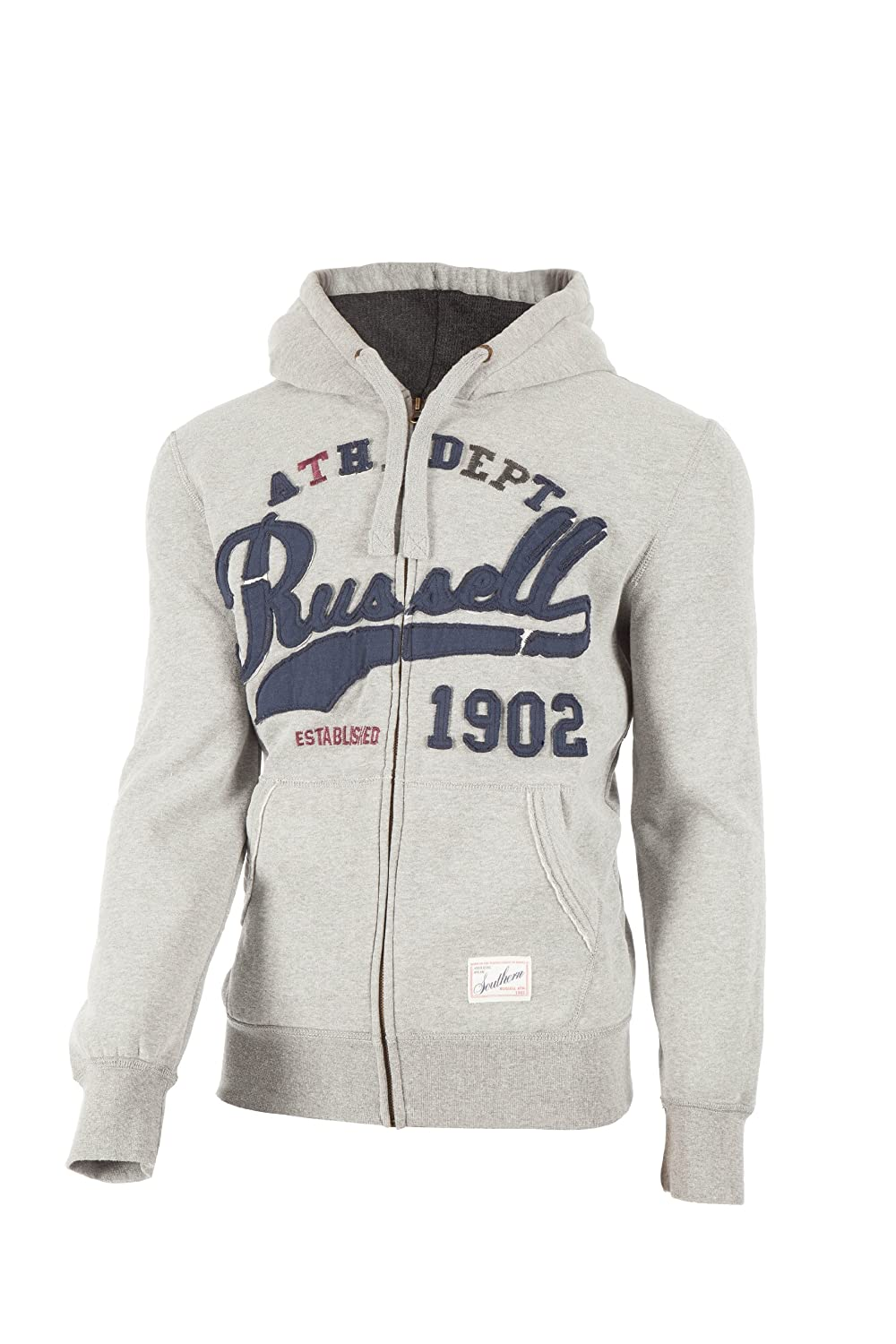 Russell Athletic Herren Kapuzenpullover Zip Through Hoody