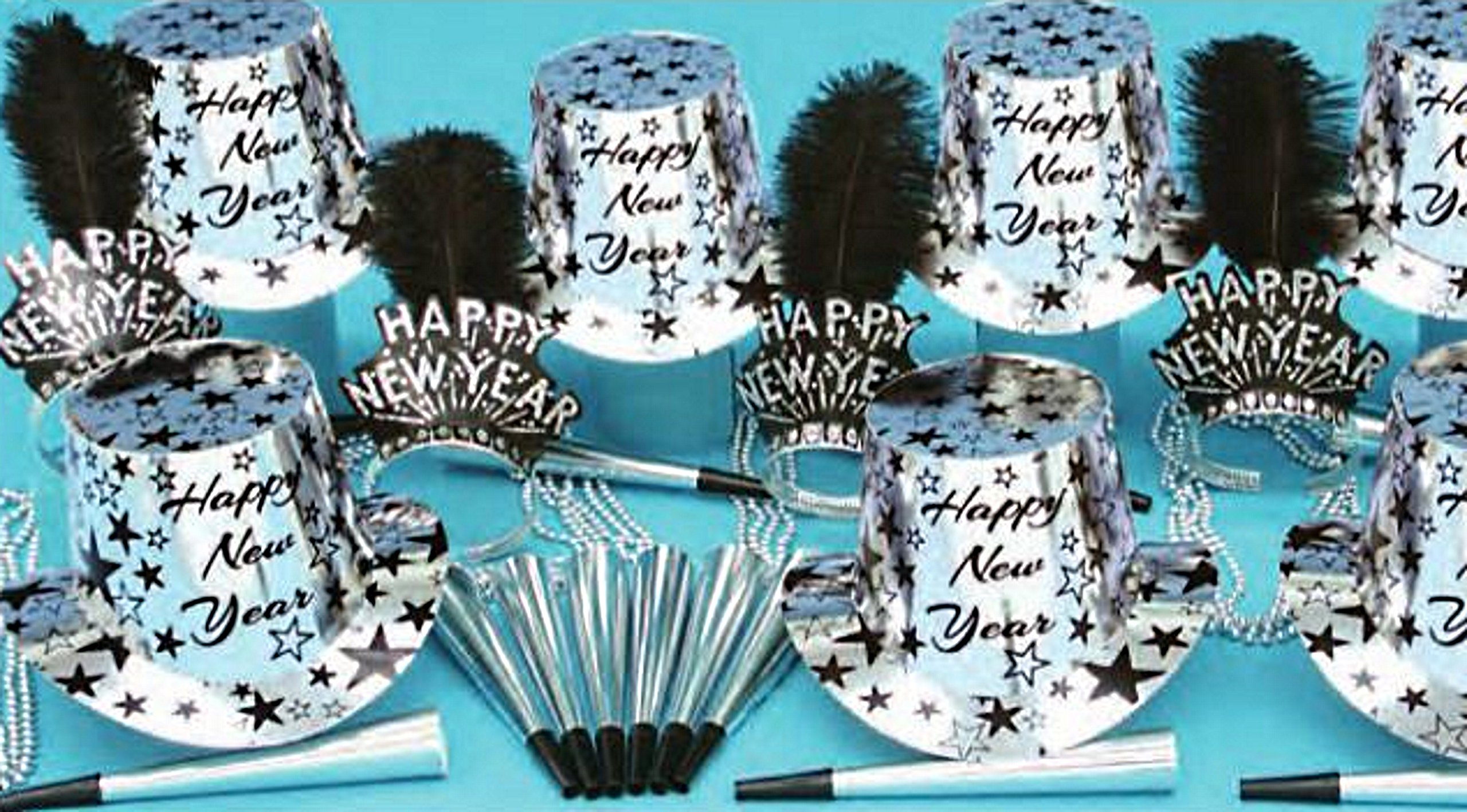 Silver Star Struck Party Kit for 50 by PTMFG